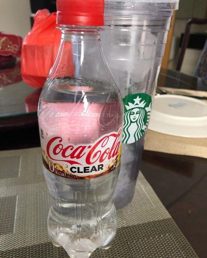 А вы пробовали когда-нибудь прозрачную Кока-колу