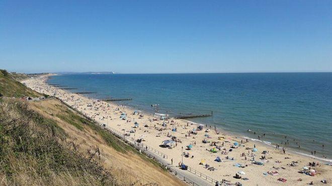 Англия, пляж Борнмут-Бич