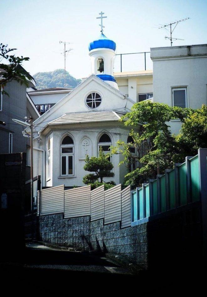Это православный храм в самом центре Токио