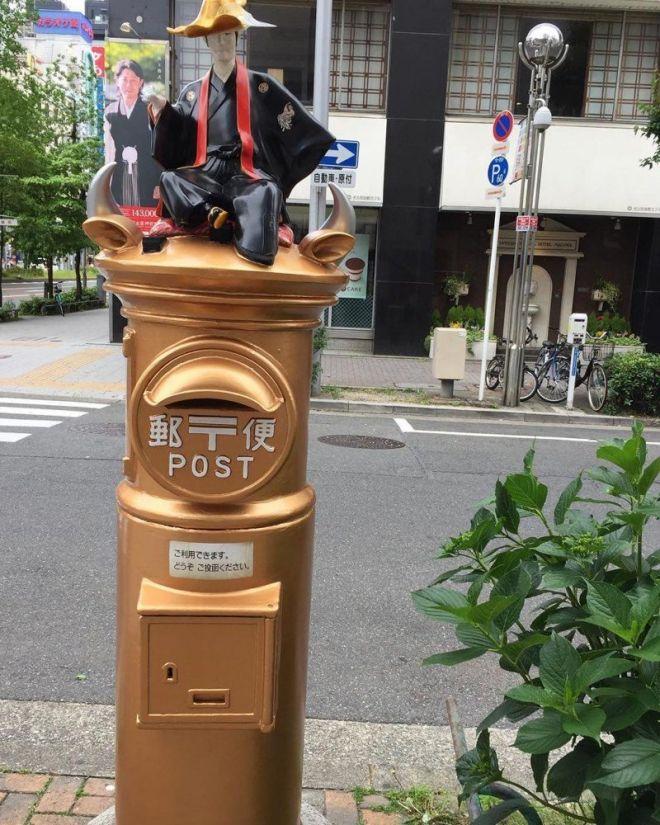В Токио любят необычные почтовые ящики