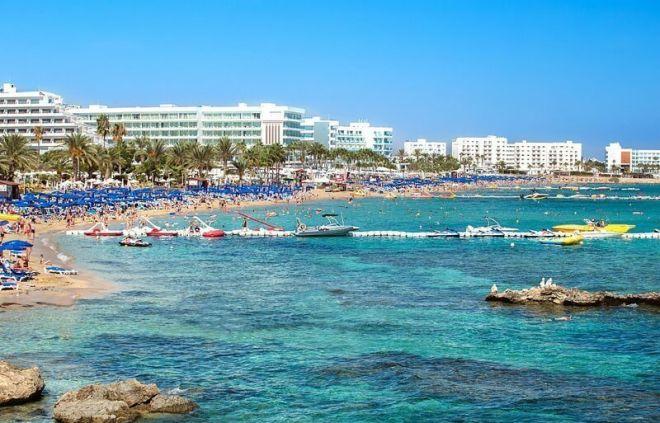 Кипр, пляж Фиг Три Бэй