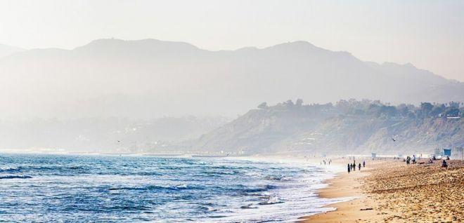 Кабо-Верде, пляж Санта-Моника Бич