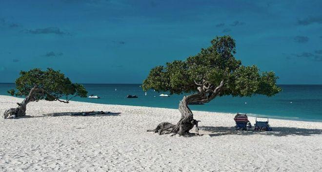 Остров Аруба, пляж Игл-Бич