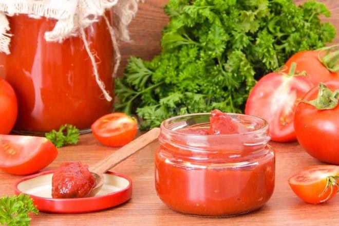 Порционная заморозка томатной пасты