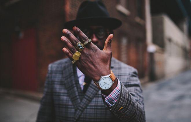 5. Длина пальцев у мужчин