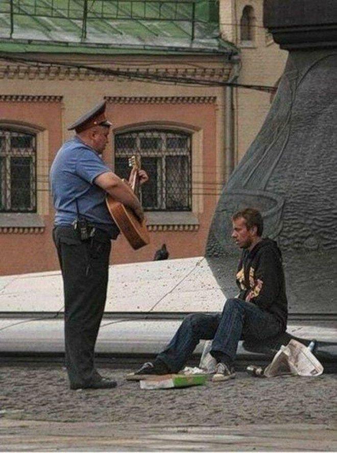 Хорошо, когда полиция положительно относится к алкоголикам