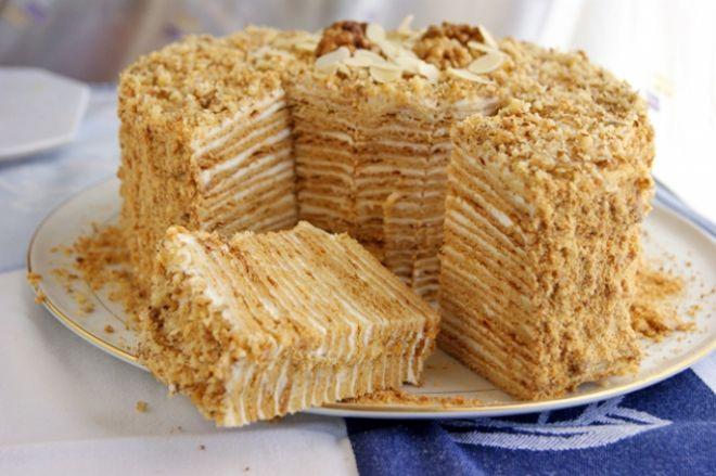 6 Торт «Наполеон»