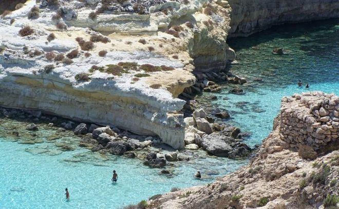 Италия, пляж Кроликов или Спиаджиа-дей-Конигли