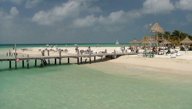 Мексика, пляж Плайя Норте