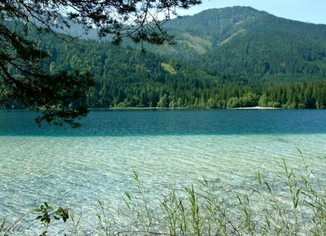 Белое озеро в Польше