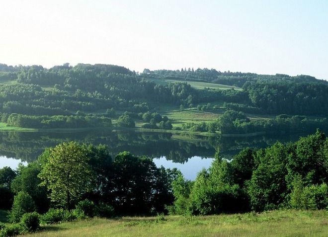 Кашубские озера в Польше