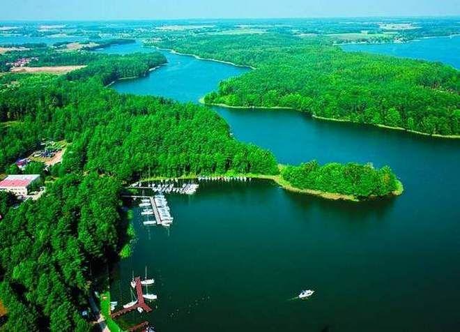 Мазурские озера в Польше
