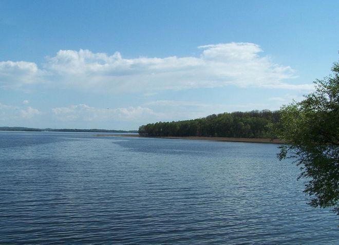 Озеро Мамры в Польше