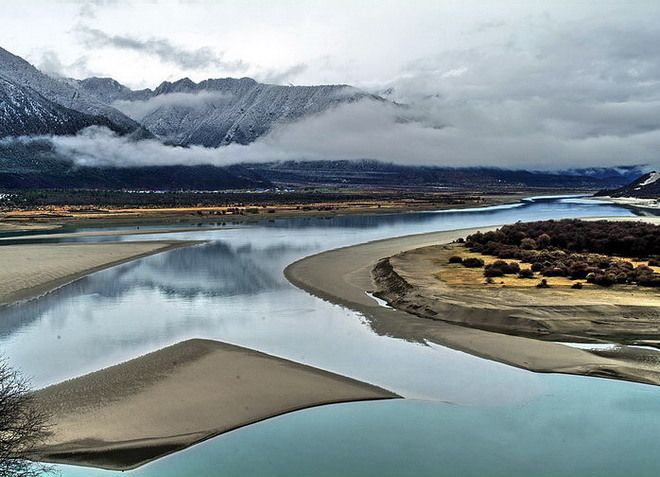 Река Брахмапутра