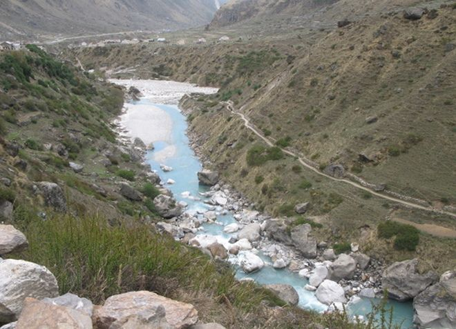 Река Сарасвати в Индии