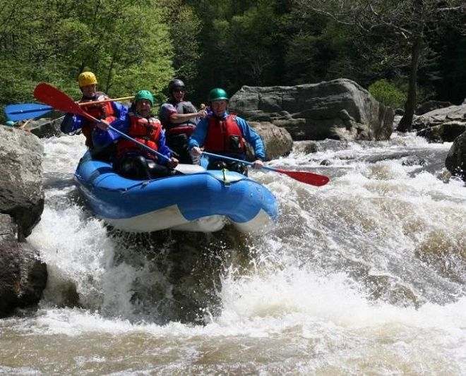 Рафтинг на румынских реках