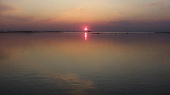 Закат на реке Арджеш