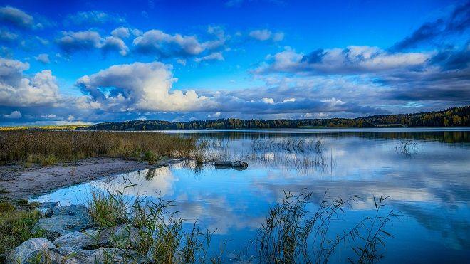 Реки Финляндии имеют равнинный характер