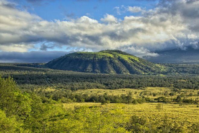 Вулкан Хуалалаи - природная достопримечательность Каилуа-Коны