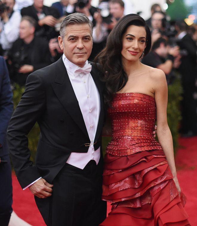 Джордж и Амаль Клуни2