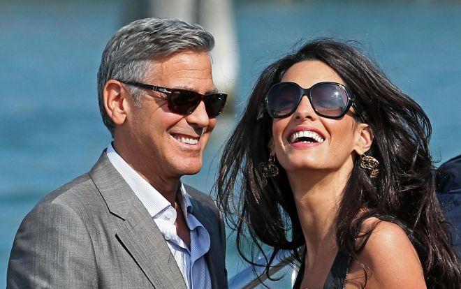 Джордж и Амаль Клуни3