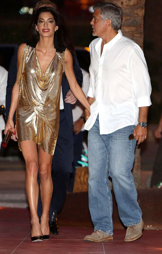 Джордж и Амаль Клуни4