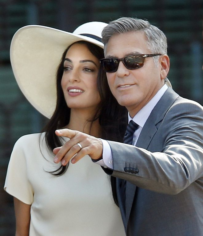 Джордж и Амаль Клуни5