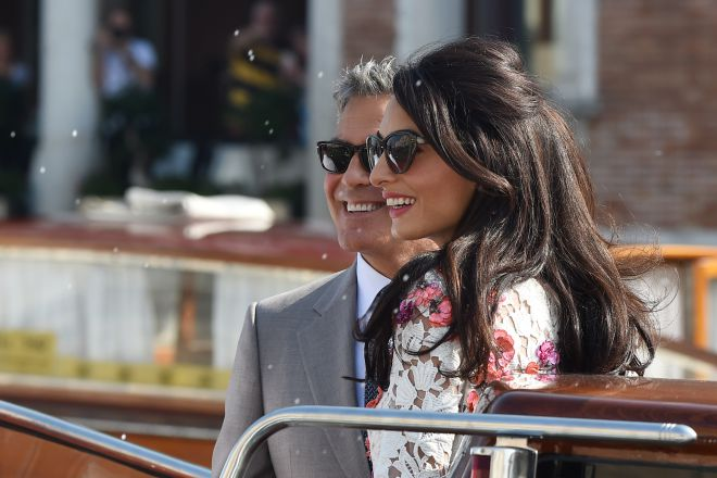 Джордж и Амаль Клуни6