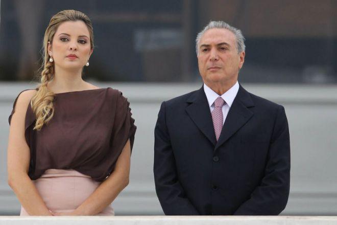 Президент Бразилии и его супруга