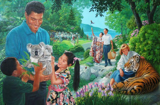 Рай в представлениях Свидетелей Иеговы