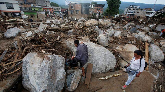 селевой поток в Колумбии1