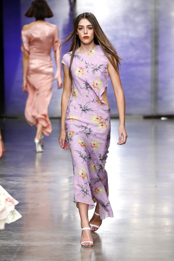 Систин Сталлоне на лондонской неделе моды
