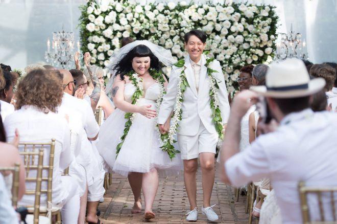 свадьба Бет Дитто