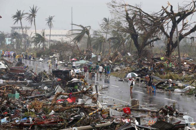 Тайфйн на Филиппинах