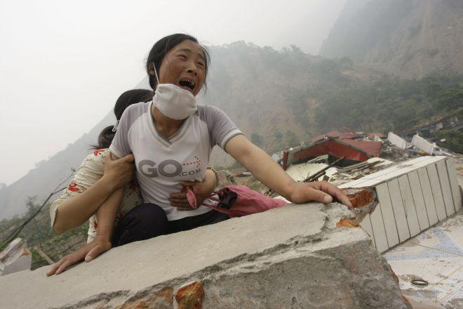 землетрясение в Китае1