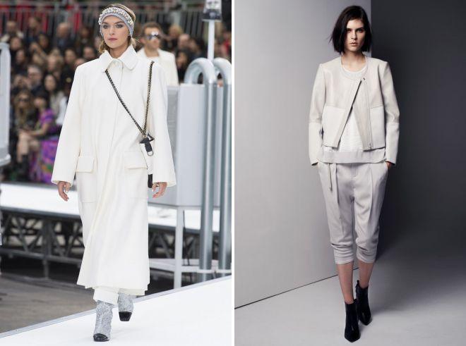 красивые белые женские костюмы 2018
