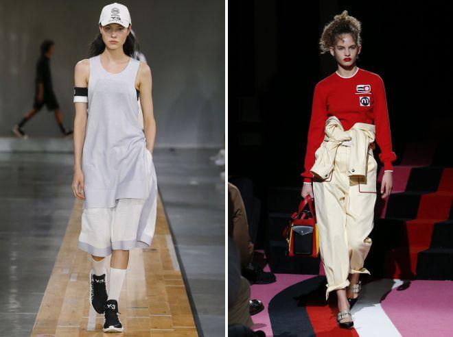 женский белый спортивный костюм 2018