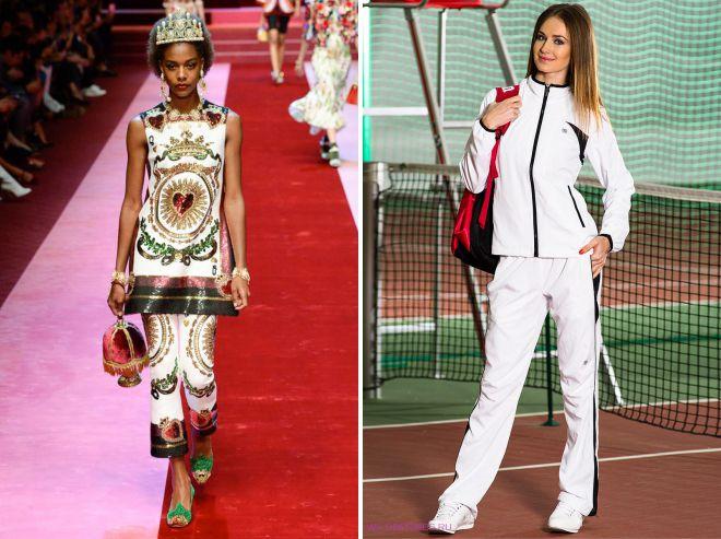 с чем носить женский белый костюм