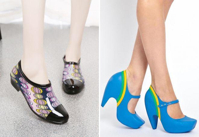 резиновая обувь туфли