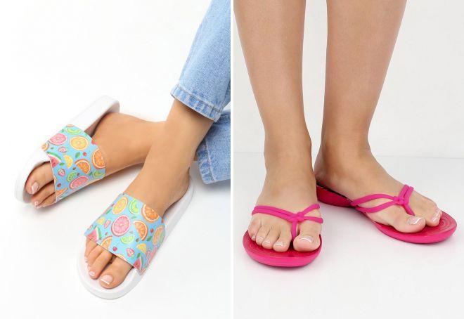 резиновая обувь вьетнамки