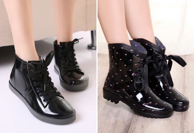 резиновая обувь ботинки