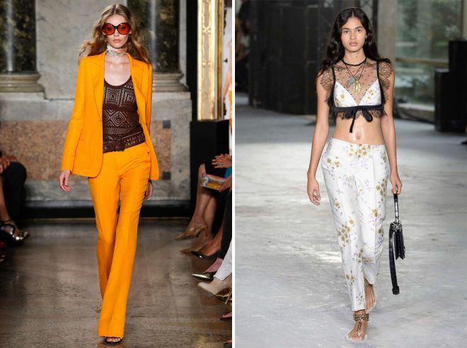 женские летние брюки 2018