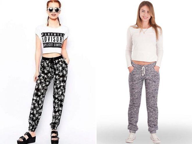 модные летние женские брюки 2018 года