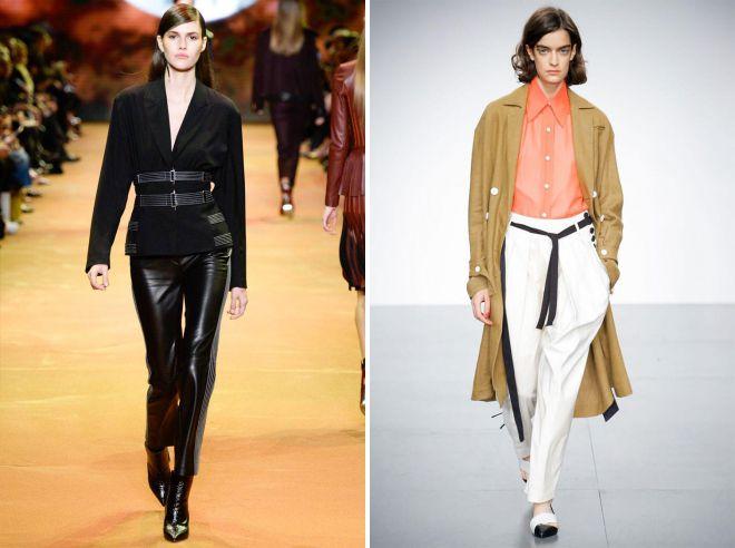 женские летние брюки с лампасами