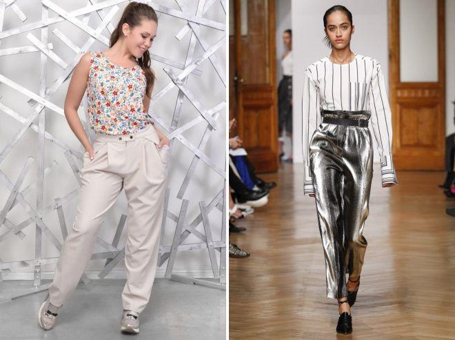 модные летние брюки 2018 для женщин