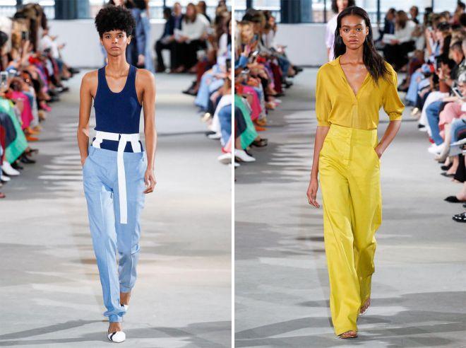 модные летние брюки бананы 2018 для женщин