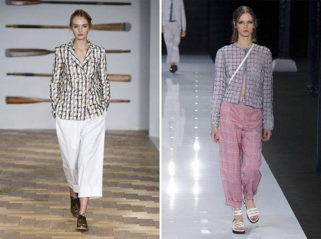 свободные женские летние брюки