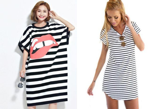 5cbf81a2090 Модное платье футболка – длинное в пол