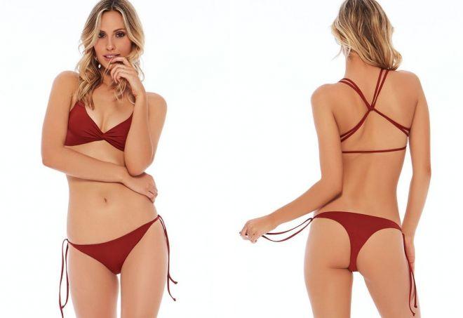 Секси стринги на девушках фото
