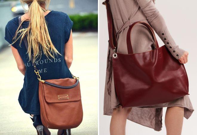 женская большая сумка через плечо